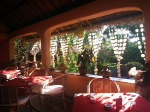 Last breakfast @hibiscus garden inn before venturing to El Nido