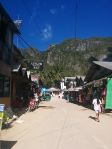 El Nido Town - the main drag
