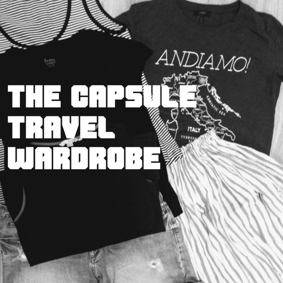 e4a1b3189e Packing A Capsule Travel Wardrobe For One Month in Europe – My Meow ...